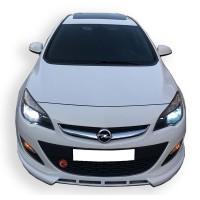Opel Astra J HB - Sedan Uyumlu 2013 Sonrası Ön Tampon Ek (Plastik)