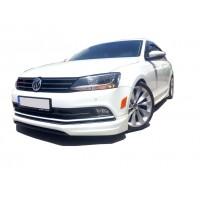 Volkswagen Jetta 6 2015 - 2017 Makyajlı Ön Tampon Ek (Plastik)