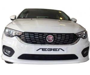 Fiat Egea HB Sedan Uyumlu (2015 - 2018) Ön Tampon Ek (Plastik)