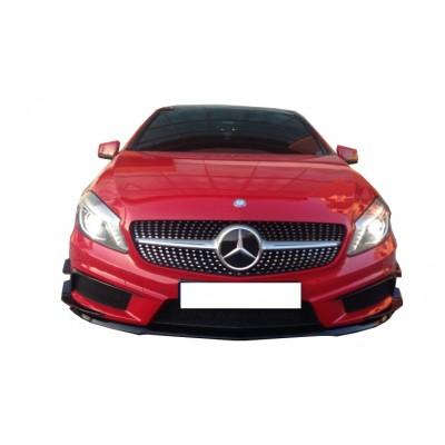 Mercedes A Serisi W176 (2013-2015) A45 Ön Tampon Kaşları (Plastik)