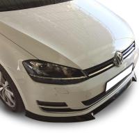 Volkswagen Golf 7 2012 - 2016 Yeni Model Ön Tampon Altı Lip (Plastik)