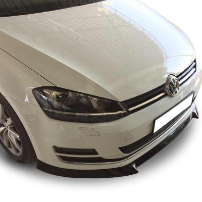 Volkswagen Golf 7 (2012-2016) Yeni Model Ön Tampon Altı Lip (Plastik)
