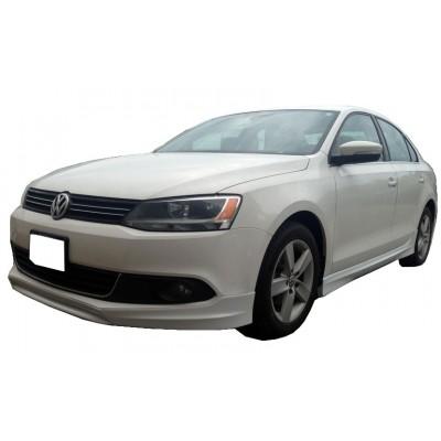 Volkswagen Jetta 2010 - 2014 Ön Tampon Ek (Plastik)