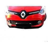 Renault Clio 4 2012 - 2016 Ön Tampon Altı Lip (Plastik)