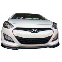 Hyundai İ30 2011 - 2016 Ön Tampon Altı Lip (Plastik)