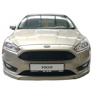 Ford Focus 3 HB - Sedan Uyumlu (2015 - 2018) Sonrası Ön Tampon Ek (Plastik)
