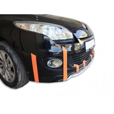 Renault Megane 3 (2009-2013) Sport Ön Tampon Ek + Lip (Plastik)