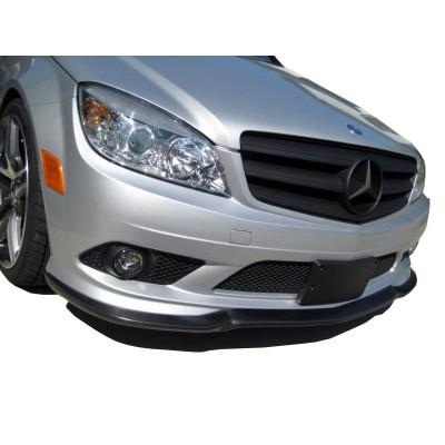 Mercedes C Serisi W204 (2008-2011) AMG Ön Tampon Ek (Fiber)