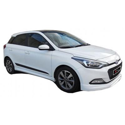 Hyundai i20 2014 Sonrası Ön Tampon Ek (Plastik)