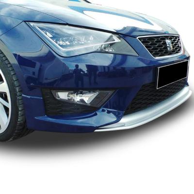 Seat Leon MK3 - 5F  2013 - 2016 FR Uyumlu Dynamic Ön Tampon Ek (Plastik)