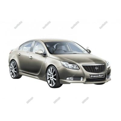 Opel İnsignia (2009-2013) Makyajsız İrmscher Ön Tampon Eki (Fiber)