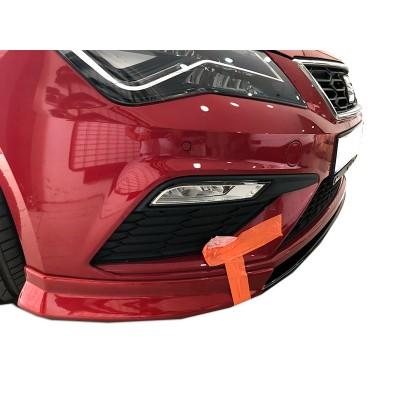 Seat Leon (2017-2019)  FR - Style - Xcellence Uyumlu Custom Ön Ek (Plastik)