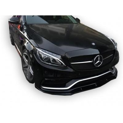 Mercedes C Serisi W205 2015 Sonrası C63 Ön Lip (Fiber)