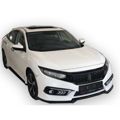 Honda Civic FC5 Sedan (2015-2018) Mugen Ön Tampon Eki (Plastik)