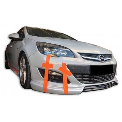 Opel Astra J HB Sedan Makyajlı Ön Tampon Eki (Plastik)