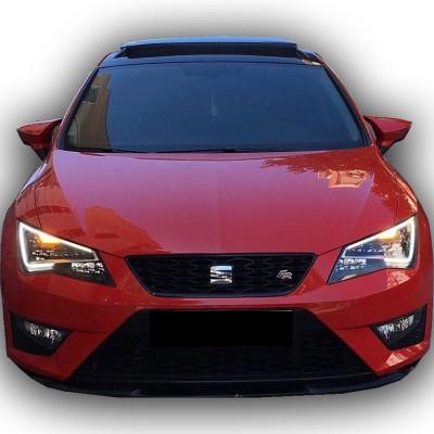 Seat Leon MK3 2013 - 2018 Yarasa Model Ayna Kapağı (Plastik)