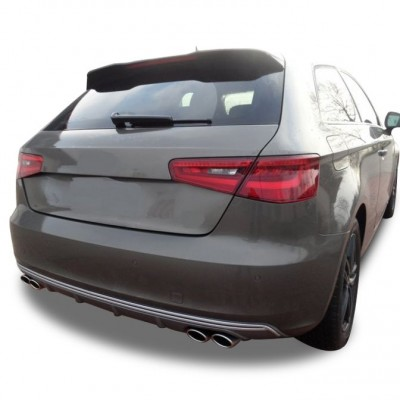 Audi A3 8V 2012 - 2016 Tek Kapı S3 Spoiler (Fiber)