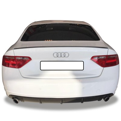 Audi A5 8P3 Coupe 2008 Sonrası Spoiler (Fiber)