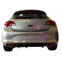 Opel Astra J HB Makyajlı 2013 - 2015 OPC Spoiler (Plastik)