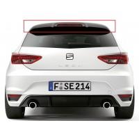 Seat Leon MK3 - 5F 2013 - 2016 FR Style Uyumlu Spoiler (Fiber)