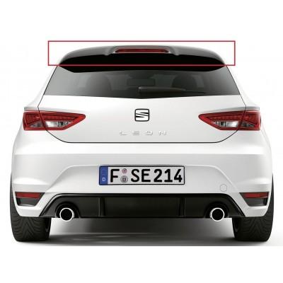 Seat Leon MK3 - 5F (2013-2019) FR Style Uyumlu Spoiler (Fiber)
