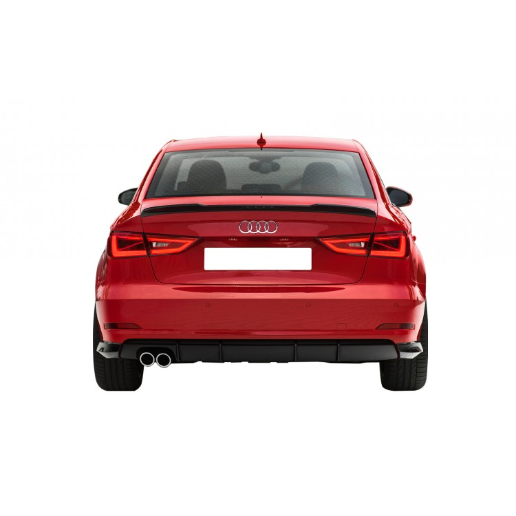 audi a3 sedan 2013 sonras 8v spoiler fiber. Black Bedroom Furniture Sets. Home Design Ideas