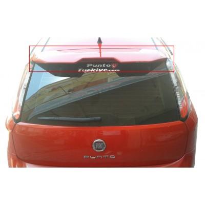 Fiat Punto Evo (2010 ve Sonrası) Spoiler (Fiber)