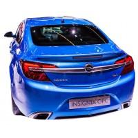 Opel İnsignia 2014 - 2016 Makyajlı Opc Line  Spoiler (Plastik)